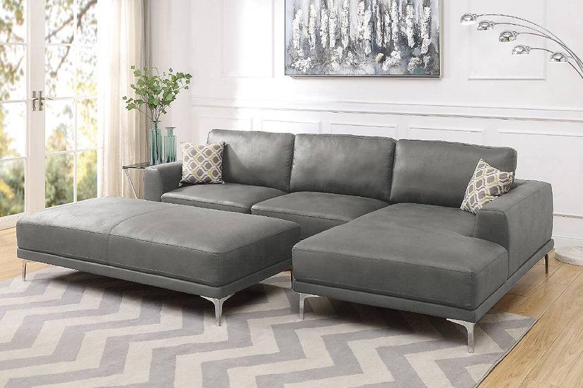 2-PCS Sectional Sofa Set - F6429