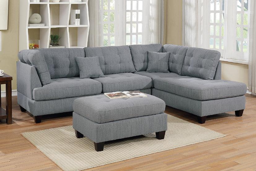 3-Pcs Sectional Sofa | F6581