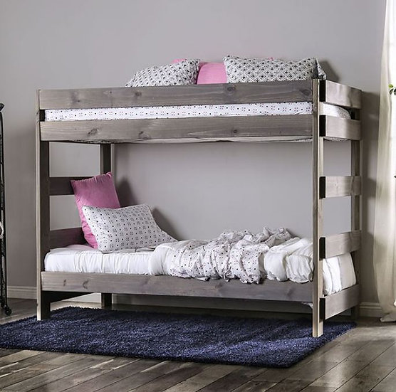 ARLETTE TWIN/TWIN BUNK BED | AM-BK100