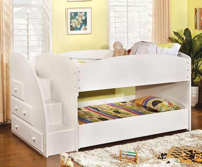 MERRITT TWIN/TWIN BUNK BED | CM-BK921BK
