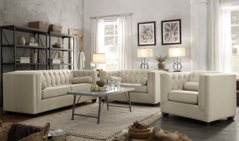 living room set 2 pieces ( 504904-S2 )