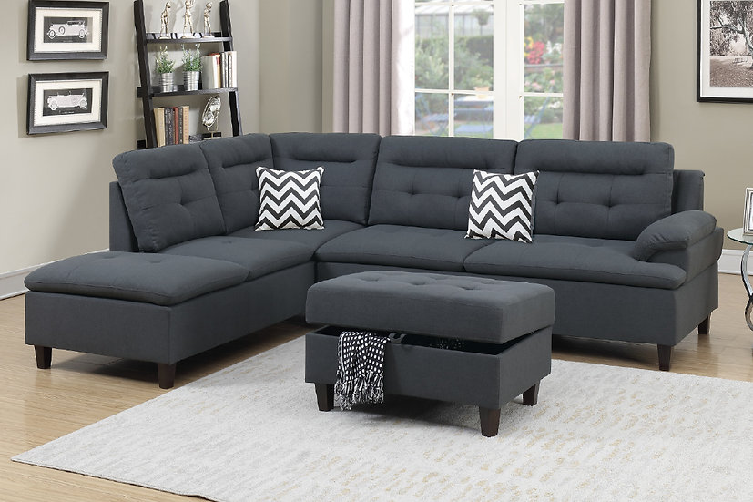 3-Pcs Sectional Sofa | F6588
