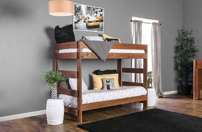 ARLETTE TWIN/TWIN BUNK BED  |  AM-BK100