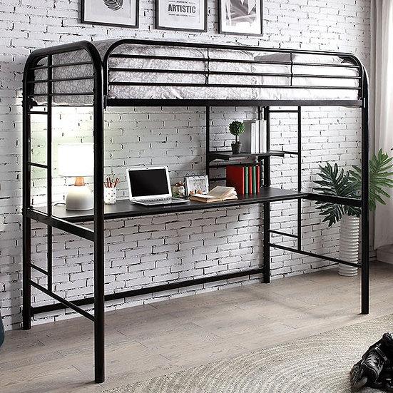 OPAL III TWIN LOFT BED | CM-BK938BK