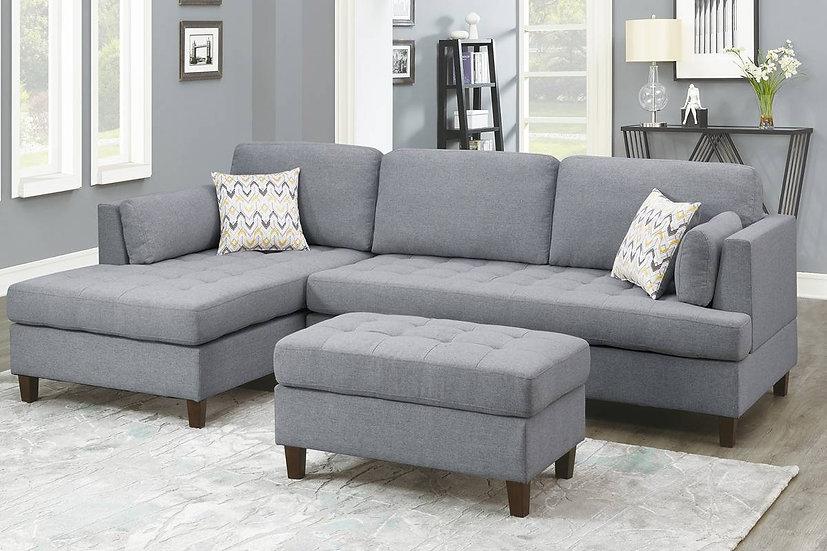 2-Pcs Sectional Sofa - F8831