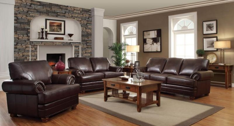 living room set 3 pieces ( 504411-S3 )