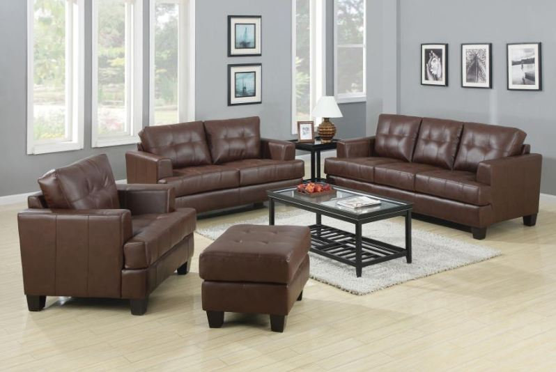 living room set 2 pieces ( 504071-S2 )