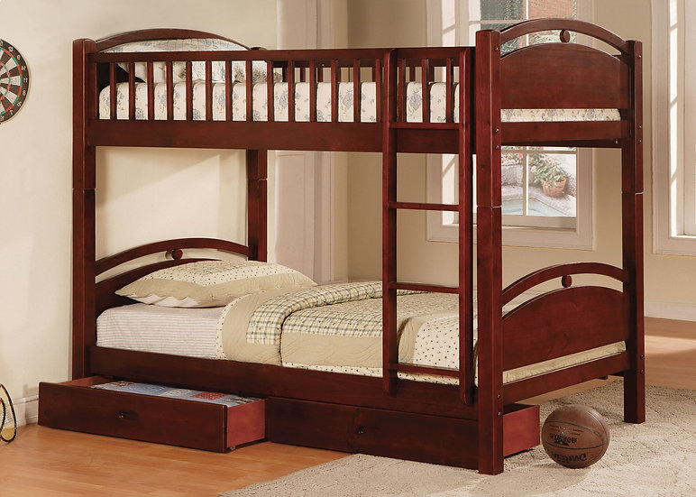 CALIFORNIA I TWIN/TWIN BUNK BED | CM-BK600