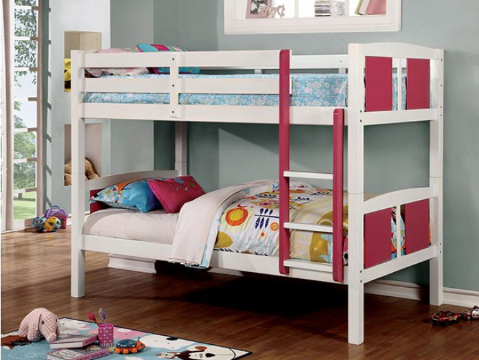 CORRAL TWIN/TWIN BUNK BED   CM-BK623T