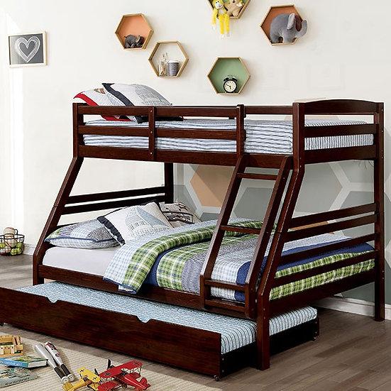 ELAINE TWIN/FULL BUNK BED | M-BK634EX-TF