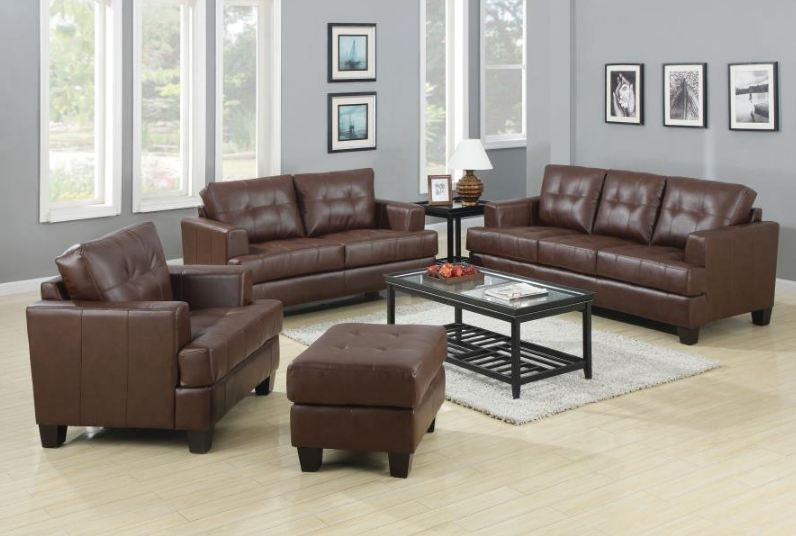 living room set 3 pieces ( 504071-S3 )