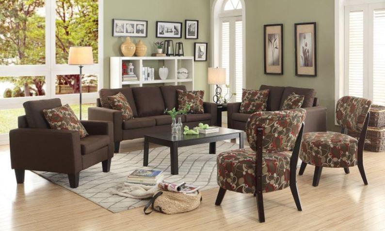 living room set 2 pieces ( 504767-S2 )