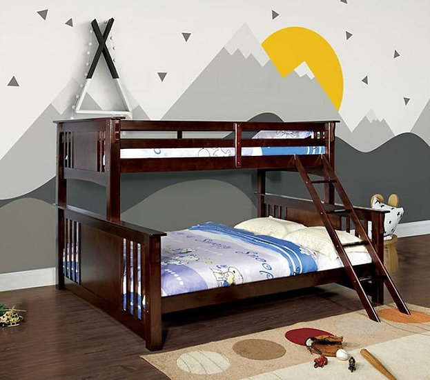 SPRING CREEK TWIN XL/QUEEN BUNK BED  | CM-BK604