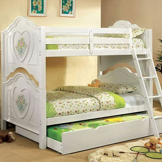 ISABELLA III TWIN/TWIN BUNK BED  |  CM-BK119