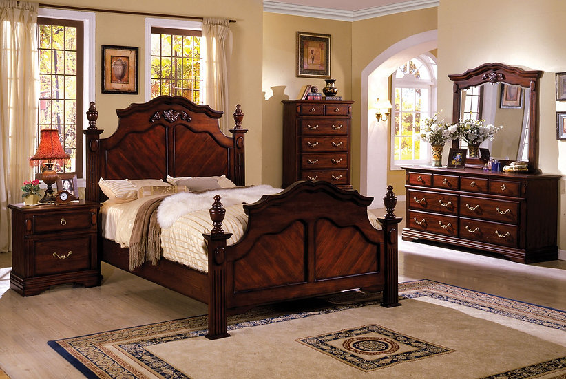 LEWISBURG Bed Frame ( CM7721 )