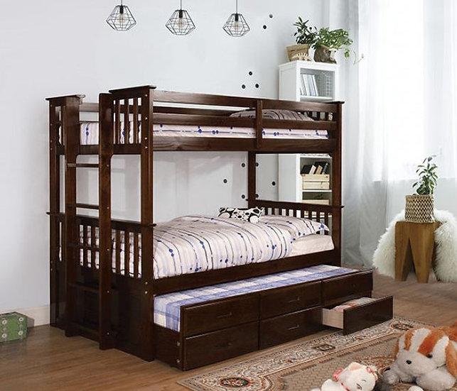 UNIVERSITY II TWIN/TWIN BUNK BED | CM-BK458T