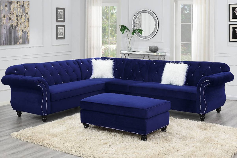 4-Pcs Sectional Sofa  | F6433