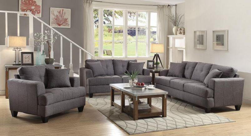 living room set 3 pieces ( 505175-S3 )