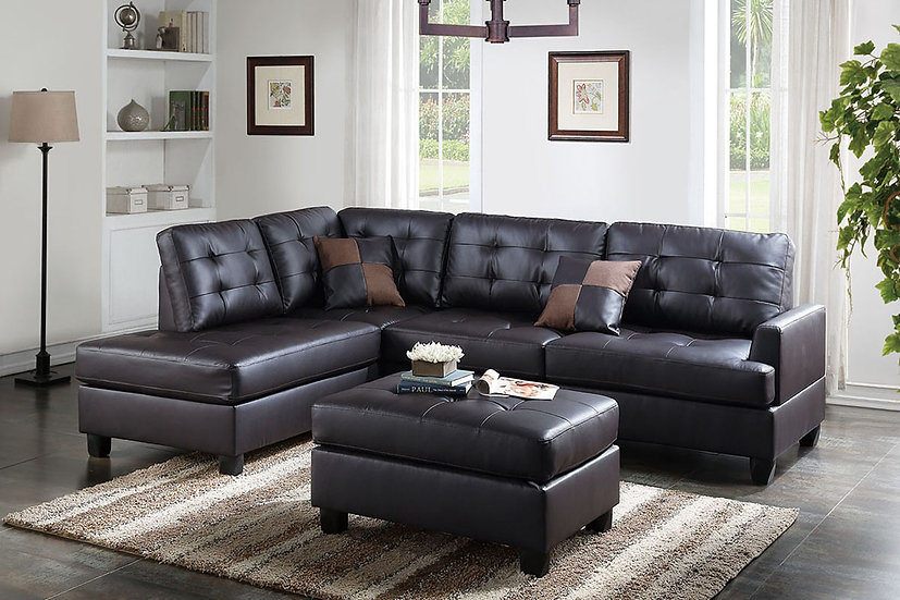 3-Pcs Sectional Sofa | F6855