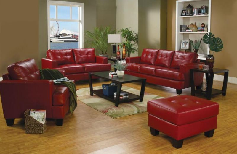 living room set 3 pieces ( 501831-S3 )
