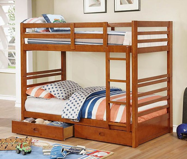 CALIFORNIA IV  TWIN/TWIN BUNK BED | CM-BK588T