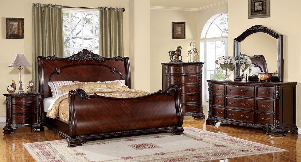 BELLEFONTE Bed Frame ( CM7277 )
