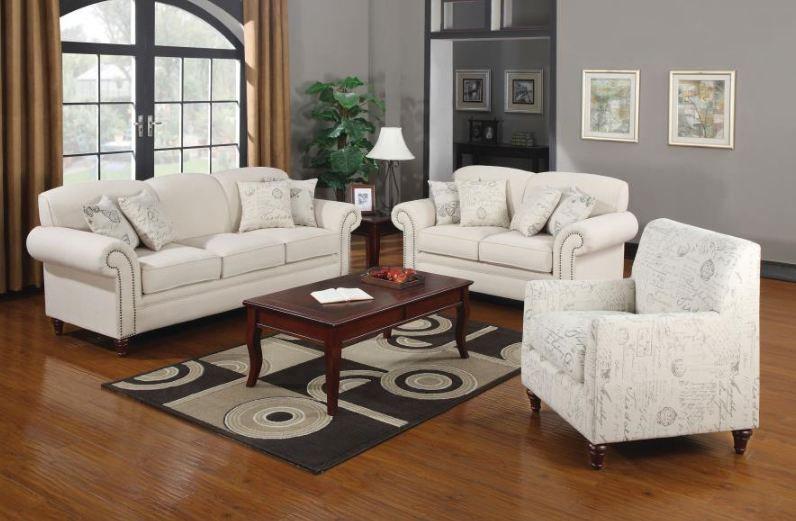 living room set 3 pieces ( 502511-S3 )