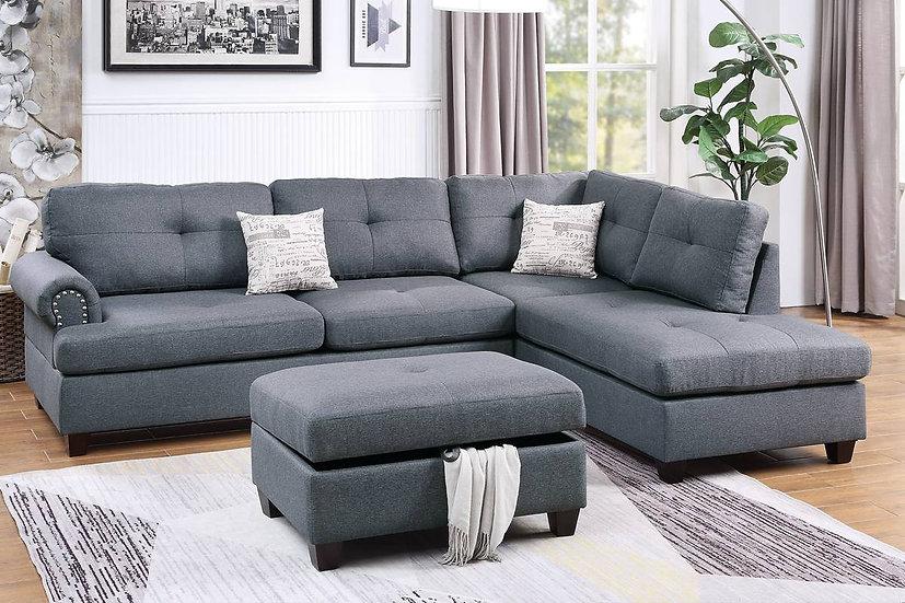 3-Pcs Sectional Sofa | F6414