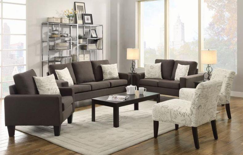 living room set 2 pieces ( 504764-S2 )