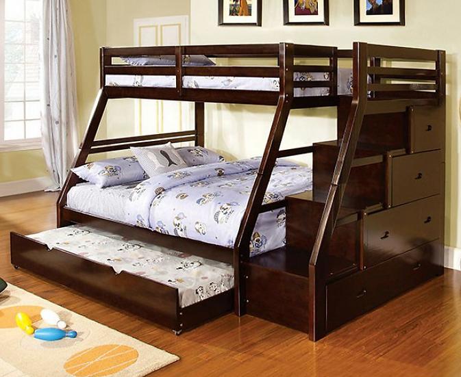 ELLINGTON TWIN/FULL BUNK BED | CM-BK611EX