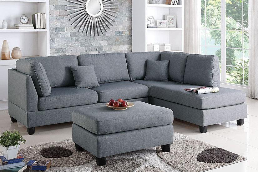3-Pcs Sectional Sofa | F7605