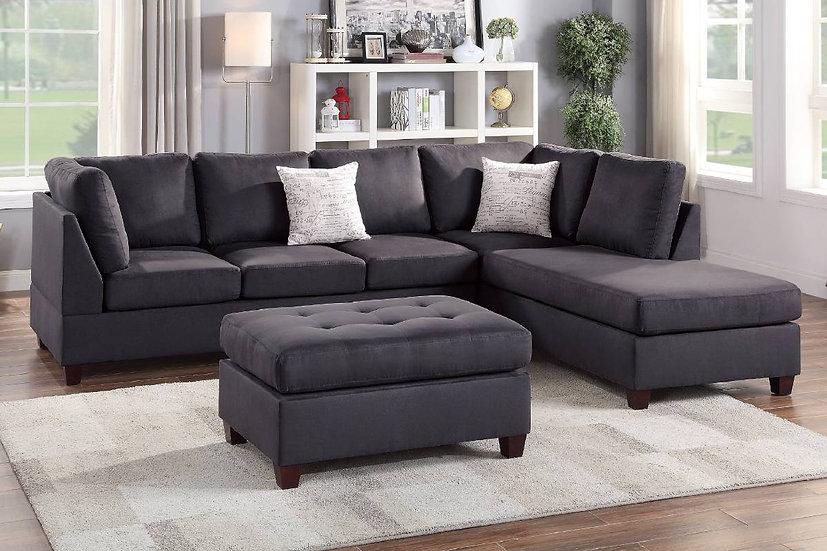 3-Pcs Sectional Sofa | F6423