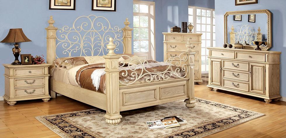 WALDENBURG Bed Frame ( CM7810 )