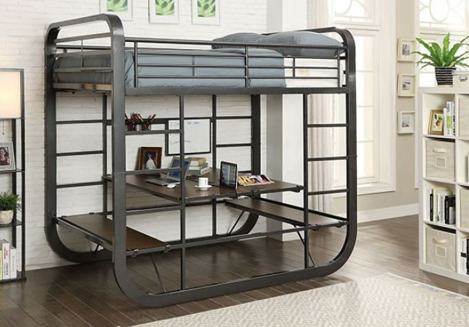 OLIVET TWIN/TWIN BUNK BED  |  CM-BK1050T