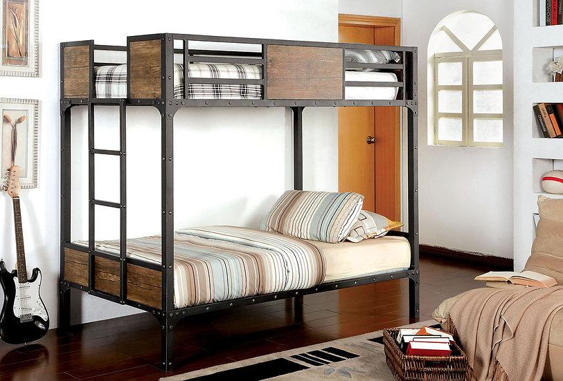 CLAPTON TWIN/TWIN BUNK BED  | CM-BK029