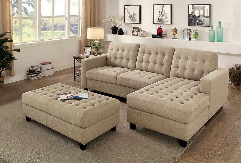 NORMA SECTIONAL W/ OTTOMAN   CM6440