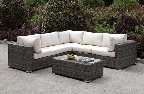 SOMANI L-SECTIONAL + COFFEE TABLE | CM-OS2128-SET13