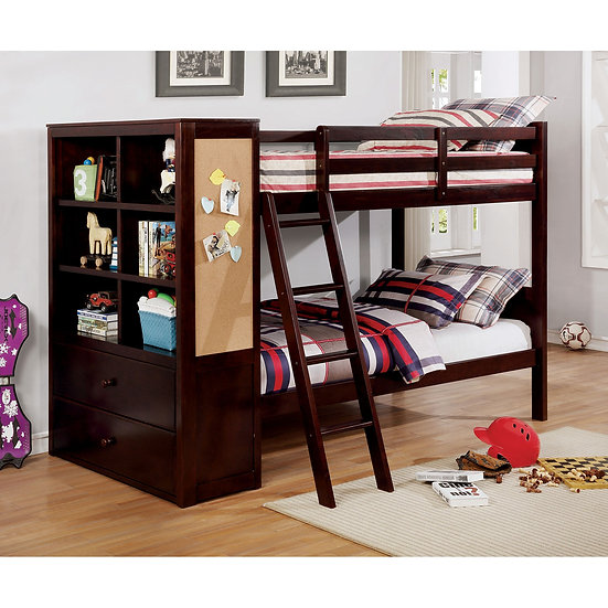 ATHENA TWIN/TWIN BUNK BED  |  CM-BK266EX-TT-BED