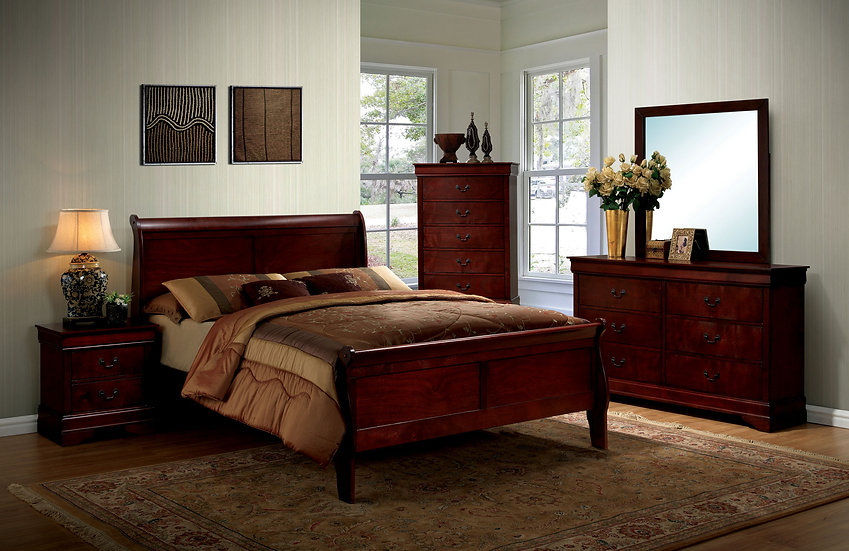 LOUIS PHILIPPE III Bed Frame ( CM7866 )