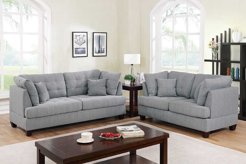 2-Pcs Sofa Set - F6401