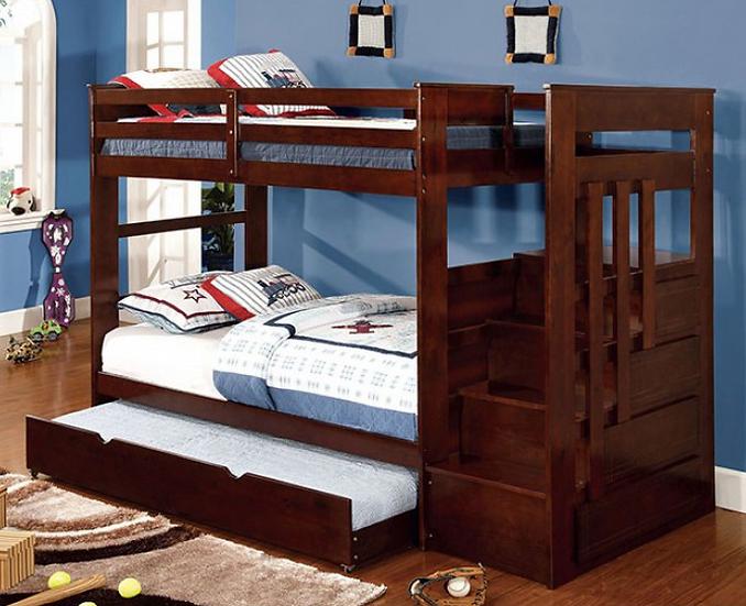 WOODRIDGE TWIN/TWIN BUNK BED | CM-BK612