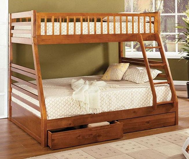 CALIFORNIA II TWIN/TWIN BUNK BED | CM-BK601