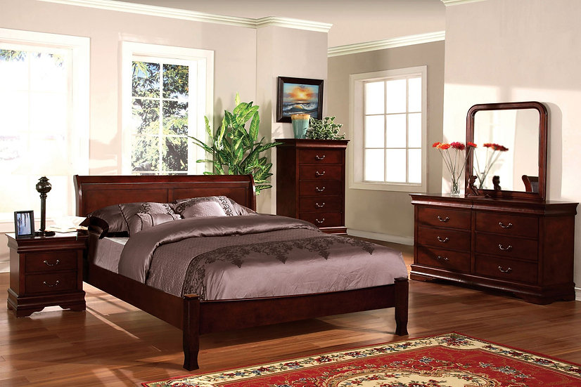 LOUIS PHILIPPE I Bed Frame ( CM7825L )
