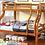 Thumbnail: SOLPINE TWIN/FULL BUNK BED | CM-BK618