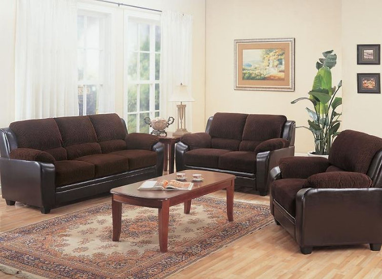 living room set 2 pieces ( 502811-S2 )