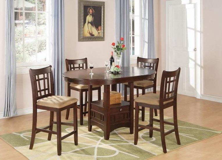 5 piece Dinning Set ( 100888N-S5 )
