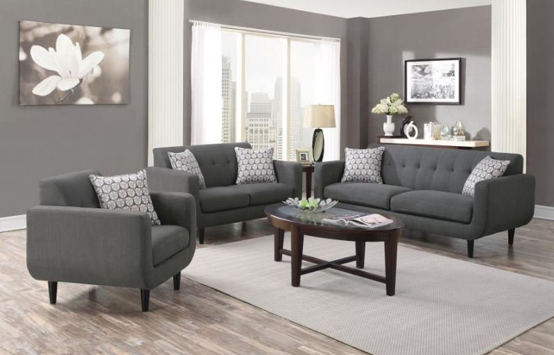 living room set 2 pieces ( 505201-S2 )
