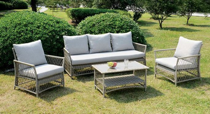 JACQUELYN 4 PC. PATIO SEATING SET | CM-OS1832