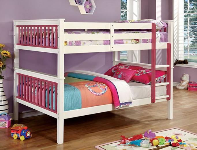 CORRIN Full/Full BUNK BED | CM-BK625F