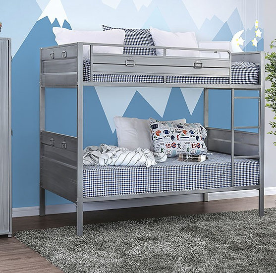 MCCREDMOND TWIN/TWIN BUNK BED | CM-BK959